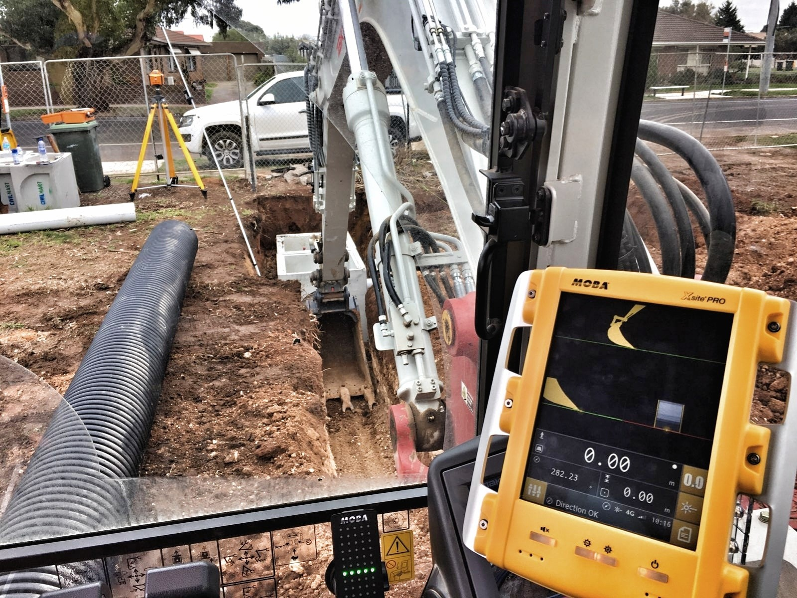 MOBA Australia installing yet another Xsite system